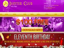 Jupiter Club Casino Review 100 Free Casino Bonus