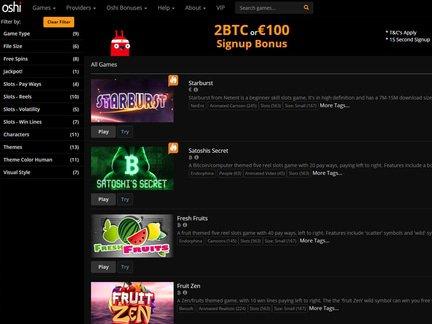 Oshi Casino Review &amp