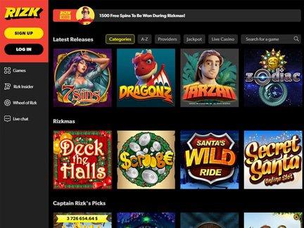 King of Slots - Rizk Casino