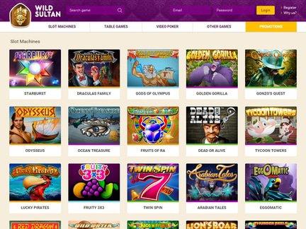 Wild Sultan Casino Review