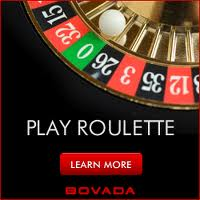 Receive a roulette bonus when signing up for Bovada Roulette
