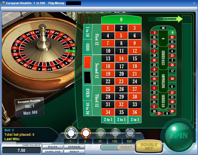 roulette free play no deposit required