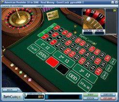 Roulette at PartyCasino
