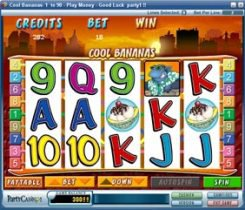 Hit the slot machines at PartyCasino