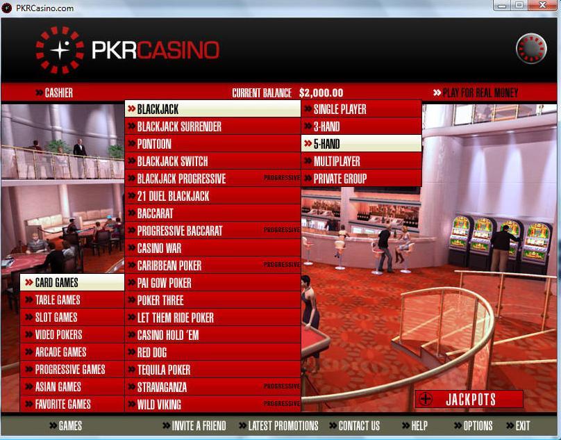 Pkr casino bonus new south african online casino